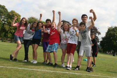 Англия, город Шропшир, школа Absolutely English Young Learners