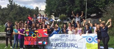Летняя школа ASTUR, город Аугсбург, Германия