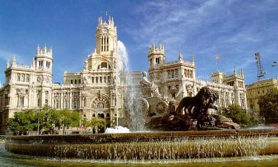Испания, город Мадрид, школа Academia Contacto