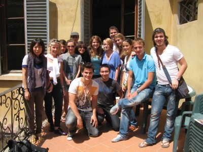 Италия, город Флоренция, школа Eurocentres