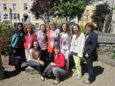 Ирландия, город Дублин, школа Language in group