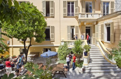 Франция, Ницца, школа Azurlingua