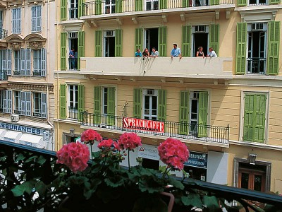 Школа Sprachcaffe, Ницца
