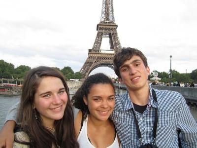 Франция, город Париж, школа Sprachcaffe